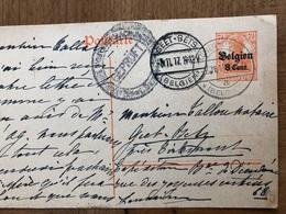 Baronne De Dieudonne Linden Leuven Korbeek-lo Tirlemont à Notaire Tallon Geetbets 1917 - Leuven