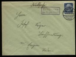WW II DR Briefumschlag Mit Landpoststempel: Gebraucht Honstetten über Engen Baden Land 1934 ,Bedarfserhaltung. - Duitsland