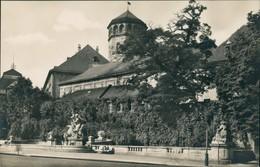 Bayreuth Wittelsbacher Brunnen, Schloss-Kirche, Schloss-Turm 1930 - Bayreuth