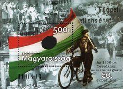 Hongrie Hungary Magyar Bf 297 Drapeau, Bicyclette - Radsport