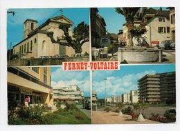 - CPM FERNEY-VOLTAIRE (01) - 4 Vues Différentes 1984 - Editions CELLARD 732 - - Ferney-Voltaire