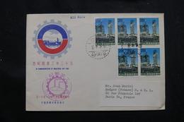 TAIWAN - Enveloppe FDC Pour Paris En 1964, Affranchissement Plaisant - L 58832 - Briefe U. Dokumente