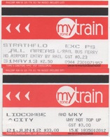 Australie NSW Sydney ? : 1 Ticket Simple  2013+ 1 Ticket Semaine 2012 - Abonos