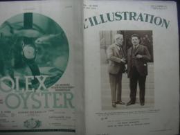 L'ILLUSTRATION 4659 CABOUL/ CROISIERE JAUNE CHINE / PAQUEBOT CHAMPLAIN/ - Zeitungen