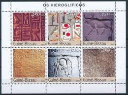 NB - [402397]TB//**/Mnh-Guinée-Bissau 2003 - Hieroglyphe, Egyptes, Histoire, Language - Egyptology
