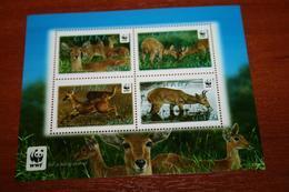 WWF  Ghana  Rare Mini-block  Fauna - W.W.F.