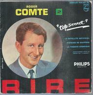 """45 Tours EP - ROGER COMTE - PHILIPS 432361 - """" HISTOIRE DE CHIFFRES """" + 3 - Vinyles"""