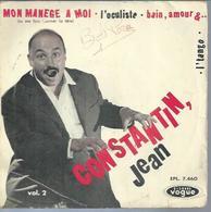 """45 Tours EP - JEAN CONSTANTIN -  VOGUE 7460  -   """" MON MANEGE A MOI """" + 3 - Vinyles"""