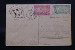 CÔTE DES SOMALIS - Affranchissement Plaisant Sur Carte Postale Pour L 'Allemagne En 1913 - L 58839 - Côte Française Des Somalis (1894-1967)