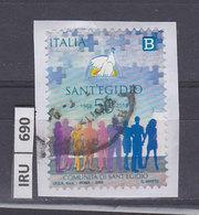 ITALIA REPUBBLICA    2018Comunità Sant'Egidio Usato - 6. 1946-.. República