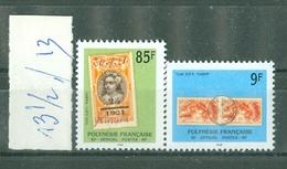 POLYNESIE FRANCAISE - Timbre-taxe N° 27**  MNH  Et  28**  LUXE FRAICHEUR POSTALE - Timbres Et Cachets Sur Timbres. - Timbres-taxe