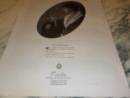 ANCIENNE PUBLICITE LA DIFFERENCE  COLLIERS  TECLA 1924 - Joyas & Relojería