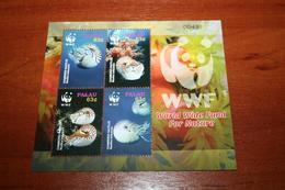 WWF  Palau  Rare Mini-block  Marine Life - Marine Life
