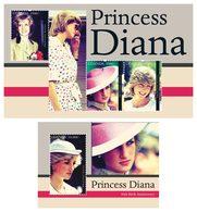 UGANDA 2012 - Princess Diana - YT 2389A-C + BF373A; CV=32 € - Royalties, Royals