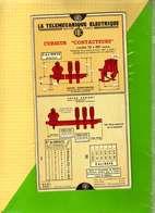 Carte De Mesure / LA TELEMECANIQUE ELECTRIQUE Curseurs    Calcul Des Mesures Electriques Moteurs Puissances Electriques - Autres Appareils