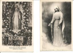 [36] Indre > Notre Dame De Pellevoisin Lot De 2 CP - Andere Gemeenten