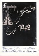 "III. Reich, Propaganda Karte "" Kriegsweihnachten In Norwegen "" 1942 - Weltkrieg 1939-45"