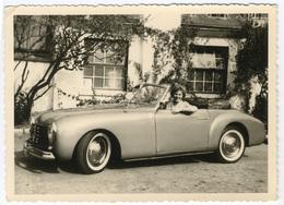 Automobile,Décapotable Dame Au Volant .Circa 1950 FG0528 - Automobiles