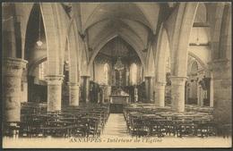 Annappes - Intérieur De L'Eglise - L. P. Edit. - Voir 2 Scans - Andere Gemeenten