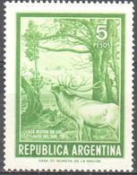 Argentina - Deer - Casa Mayor En Los Lagos Del Sur - Timbres