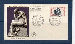 PREMIER JOUR - 1281 - Maillol - 1960-1969