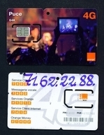 MALI - Mint/Unused SIM Card With Intact Chip - Puce - Mali