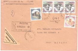 CONTRASSEGNO ANNULLO COMO 3 VIA A.DIAZ - 1981-90: Poststempel