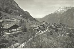 Les Granges Sur Salvan (Valais, Svizzera) Vue Generale Et Les Dent De Morcles, Panorama, General View - VS Valais