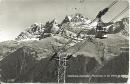 Champery (Valais, Svizzera) Téléphérique Champery - Planachaux Et Les Dents Du Midi, Funivia - VS Valais