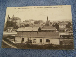 C.P.A.- Montbéliard (25) - Vue Générale - La Gare Et Le Château - 1918 - SUP (CV 80) - Montbéliard