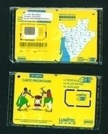 BURUNDI - Mint Sealed Lumitel SIM Phonecard With Chip - Burundi