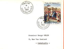 "Maroc,FDC 1er Jour ; 1964, TP N°471 "" Tableau De Delacroix ""Morocco;Marruecos - Maroc (1956-...)"