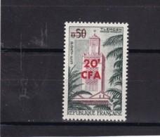 351  **  Tlemcen *RÉUNION*   58/50 - Réunion (1852-1975)