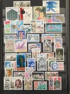 FRANCE Année 1977 - YT N° 1914 à 1961 (sauf 1956) - 47 Timbres Neufs Sans Charnière - France