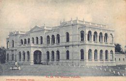 Sri Lanka - Ceylon - Colombo - The Museum - Publ. Colombo Apothecaries. - Sri Lanka (Ceylon)