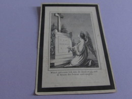 DOODSPRENTJE  JOANNES GOEYERS - Images Religieuses