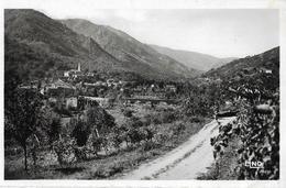 LA SOUCHE (07) Panoramique. Perspective De La Chaine Du Tanargue. Ed. Ronvière 14160, Cpsm Pf, Envoi 1953 - Frankreich