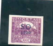 SILESIE ORIENTALE 1920 ** - Abstimmungsgebiete