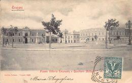 Trapani (TP) Piazza Vittorio Emanuele E Quartiere Militare - Trapani