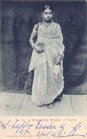 SRI LANKA - A Mohamedan Woman In Ceylon - Publ. Andrée 53. - Sri Lanka (Ceylon)