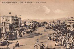 Haïti - PORT Au PRINCE - La Rue Du Quai - Ed. Benoît Couba. - Haití