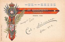 """BOLOGNA (BO) 35 Reggimento Fanteria """"immota Fide"""" - Bologna"""