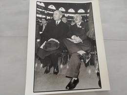 14982 POLITIQUE FRANCE PHOTO DE PRESSE  18X24 18-03-1978  M PINAY  ANTOINE - Photos