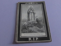 DOODSPRENTJE  LUCIA-SIDONIA GORIS - Images Religieuses