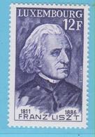 J.P.S. 5 - Timbre - Musique - Compositeur - N° 13 - Luxembourg - Liszt - N° Yvert 894 - - Musique
