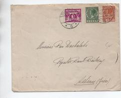 1935 - ENVELOPPE Pour ATHENES - Poststempel