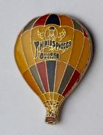 E01 Pin's Montgolfière Seville Quarter Phineas Phogg's Balloon Spain Espagne RARE - Fesselballons