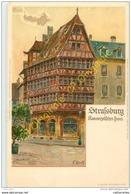 67.   STRASBOURG . Kammerzellfches Haus . - Strasbourg