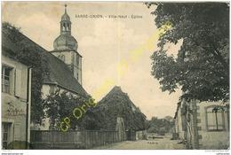 67.  SARRE UNION .  Ville Neuf . Eglise . - Sarre-Union