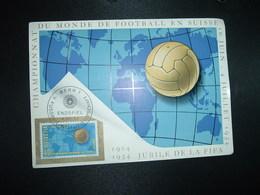 CP TP SUISSE CHAMPIONNAT DU MONDE DE FOOTBALL 40 OBL.4 VII 54 BERN 1 - 1954 – Schweiz